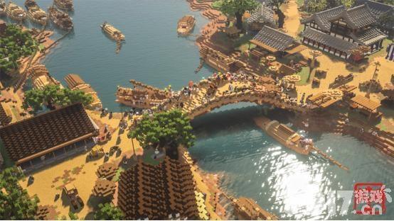 《我的世界》通过个人在游戏中重塑中国风建筑