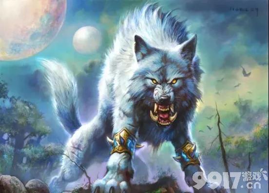 """《炉石传说》通灵学园""""双职业融合""""?双重职业的英雄罗宁战士+白狼的组合!"""