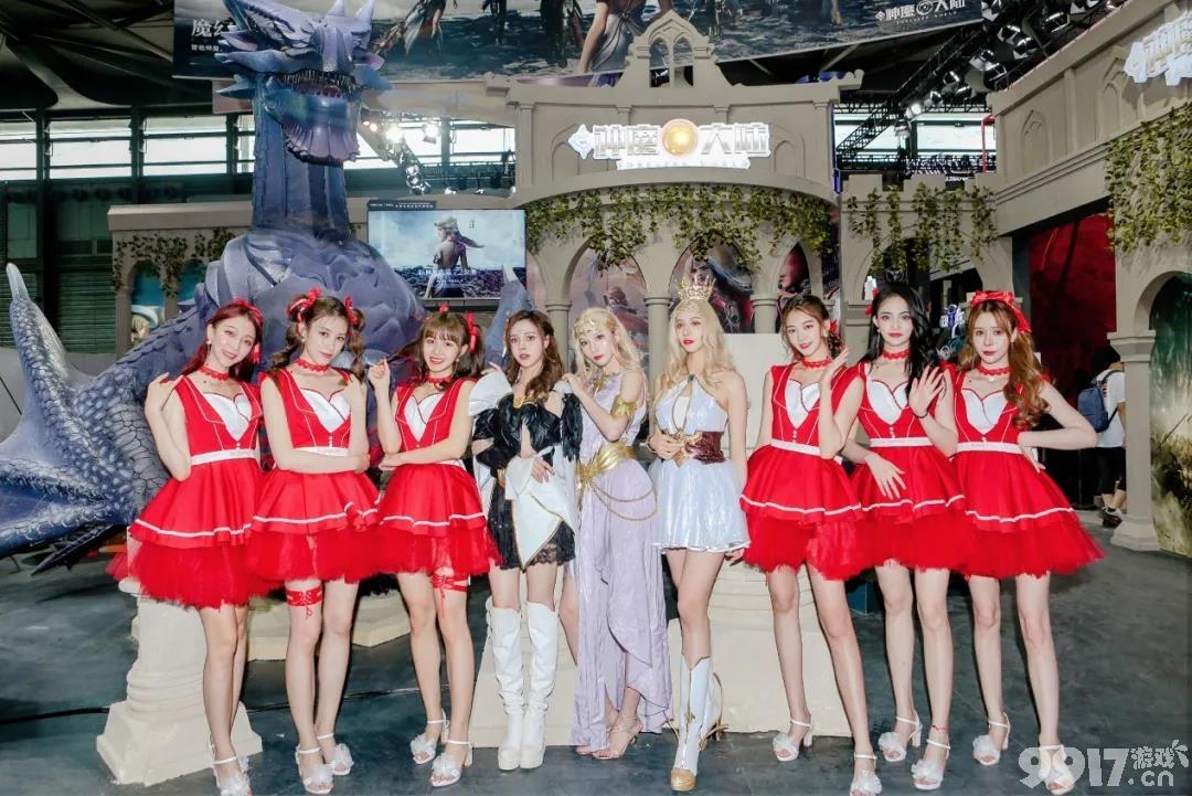 《新神魔大陆》入驻CJN2-05展位惊现巨龙神殿!人气Coser站台陪玩超大礼包送到手软!