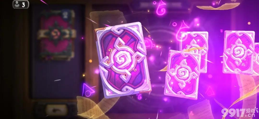 《炉石传说》新版本开卡包竟然有特效彩蛋?有趣机制的设计师DIY卡牌你期待吗?