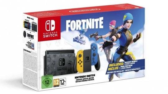 任天堂推出全新全套《堡垒之夜》限定Switch主机10月30日正式发售!