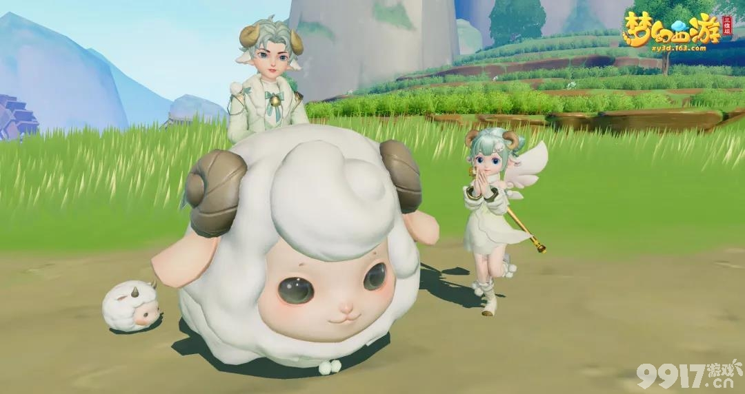 《免费送彩金500网站西游三维版》全新超萌限定坐骑【绵羊咩咩】现身三界!杨洋带着他的三只小羊来了!还有同款时装哦!