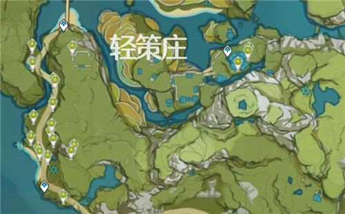 原神竹笋位置在哪?竹笋地图刷新位置一览