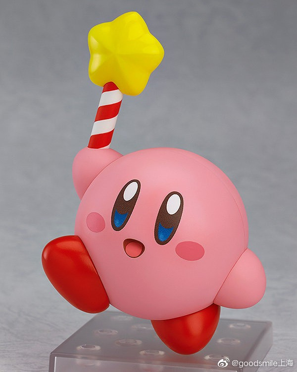 """GSC""""星之卡比""""粘土人今日开售,超萌超可爱的粘土人快来看看吧!"""