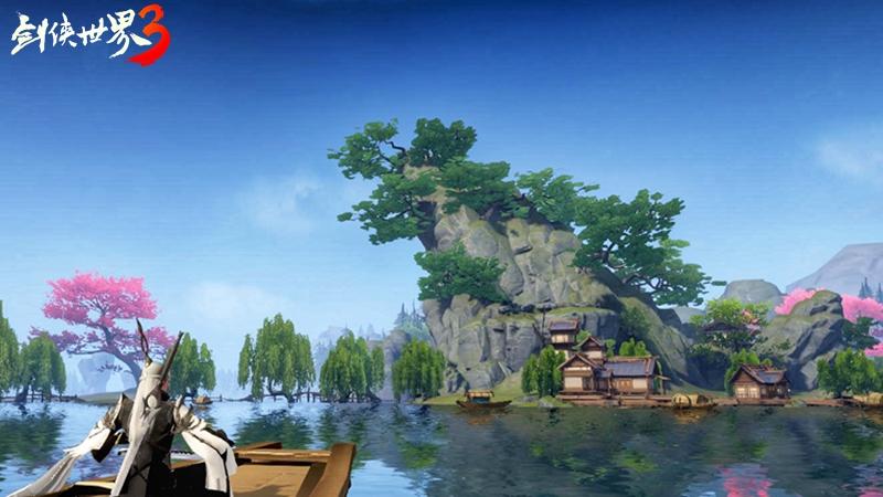 剑侠世界3真实场景截图 新一代剑侠情缘手游