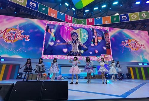 Love Live! 学园偶像季:群星闪耀 参展CJ 大版本更新全新内容等你来探索!